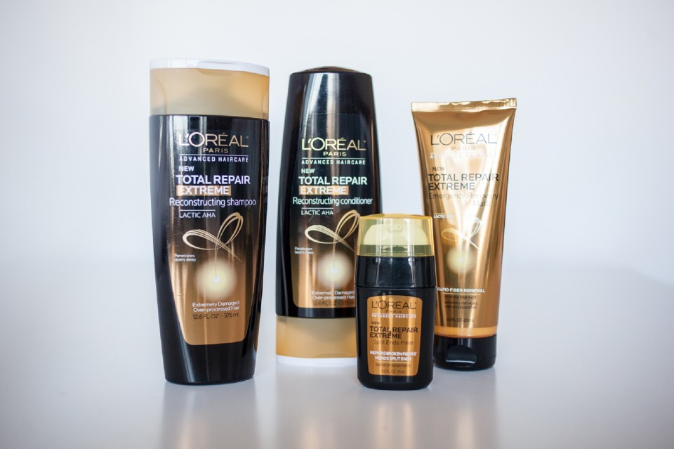 L'Oreal Hair Products, L'Oreal Total Repair Extreme