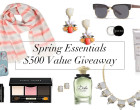 spring essentials instagram giveaway