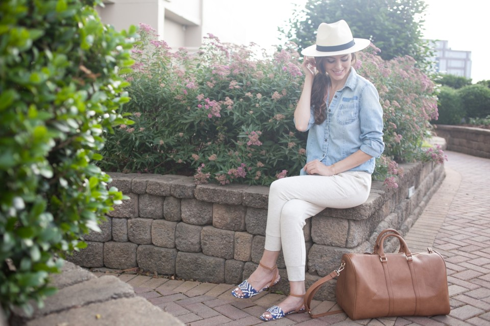 aeostyle, jogger pants, atlanta style series, summer