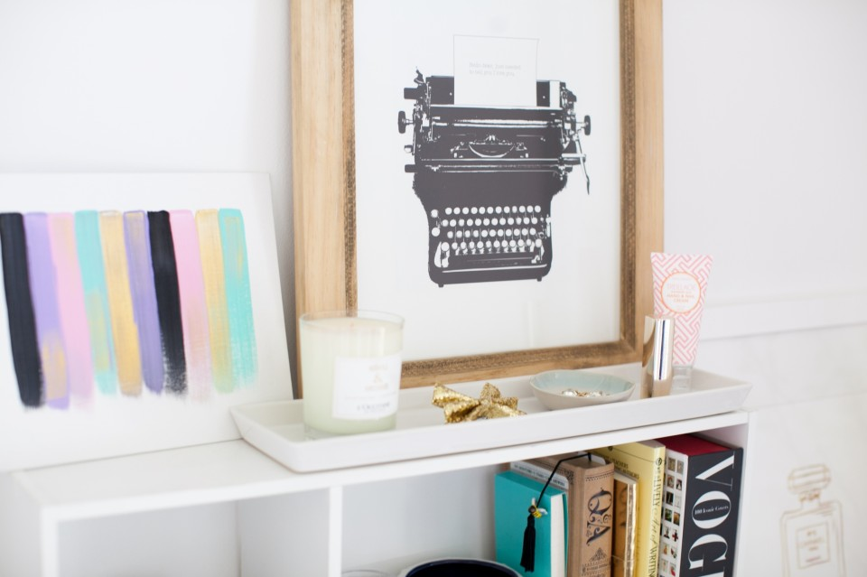 desk styling, inspiring workspace, working from home