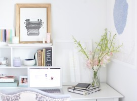 desk styling tips