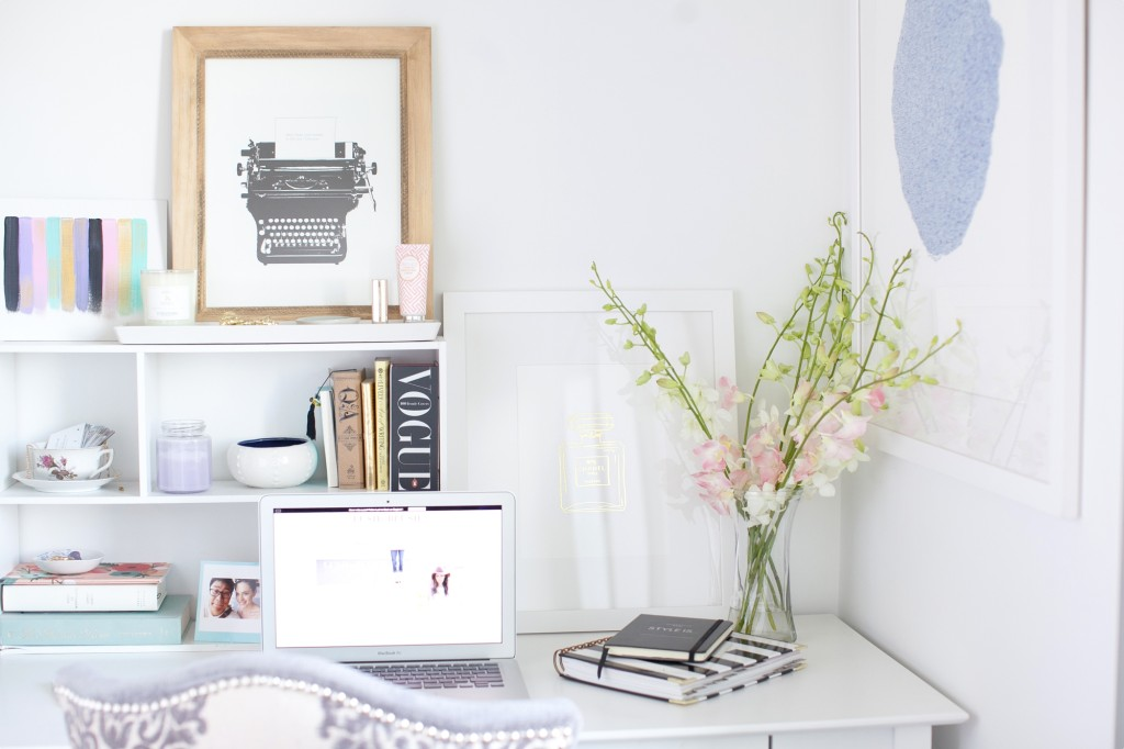 Desk Styling Tips For An Inspiring Workspace Lush To Blush