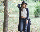 longline sweater, fall essentials, fall 2014 trends, style, fall style, autumn, bucket bag, felt panama hat, floppy hat