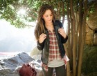 fall style, plaid, faux leather, miss me, outdoors, pumpkin, autumn