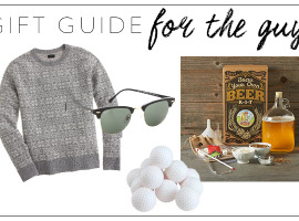 guy gift guide, gift ideas for your man, gifts for guys