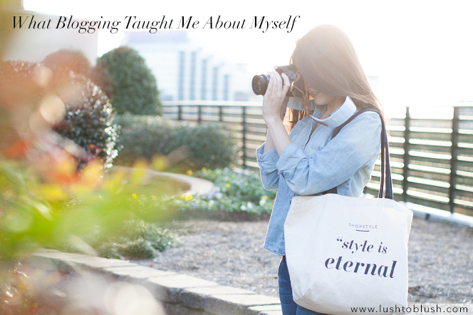 blogging. blog talk, what blogging taught me about myself