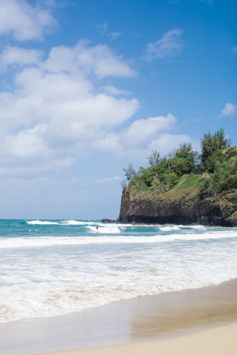 When I went to Kauai at the beginning of the month, I was lucky enough to stay in three different places during our eight night Hawaii vacation. All three were very different.