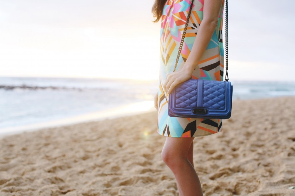 mosaic clothing boutique, rebecca minkoff, mara hoffman, kauai, hawaii, travel style, tropical style, colorful, bright