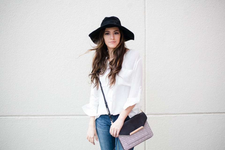 black and white, casual style, winter to spring transition, WEAR app, riffraff, shopbop